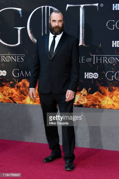 """Rory McCann attends the """"Game Of Thrones"""" season 8 premiere on April 3, 2019 in New York City."""