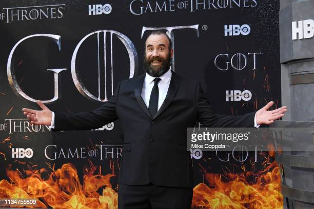 Rory McCann attends the Game Of Thrones season 8 premiere on April 3 2019 in New York City