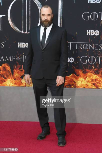 Rory McCann attends the Season 8 premiere of Game of Thrones at Radio City Music Hall on April 3 2019 in New York City