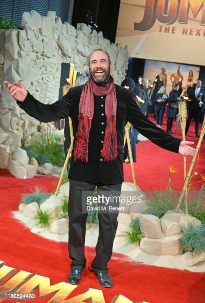Rory McCann attends the UK Premiere of Jumanji The Next Level at Odeon IMAX Waterloo on December 5 2019 in London England
