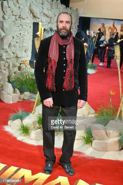 """Rory McCann attends the UK Premiere of """"Jumanji: The Next Level"""" at Odeon IMAX Waterloo on December 5, 2019 in London, England."""