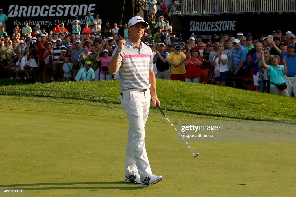 World Golf Championships-Bridgestone Invitational - Final Round : News Photo