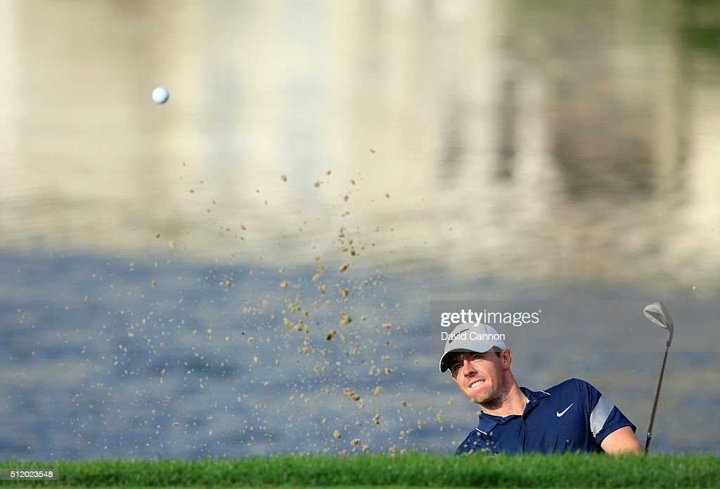 Rory McIlroy of Northern Ireland during the pro-am as a preview for the 2016 Honda Classic held on the PGA National Course at the PGA National Resort and Spa on February 24, 2016 in Palm Beach Gardens, Florida.
