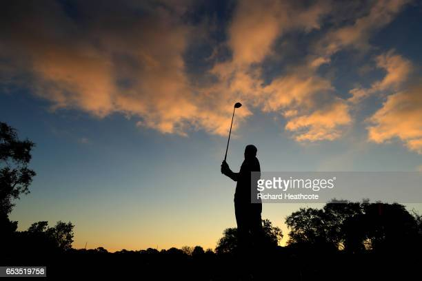 Rory McIlroy of Northern Ireland hits a shot during the proam for the Arnold Palmer Invitational Presented By MasterCard at Bay Hill on March 15 2017...
