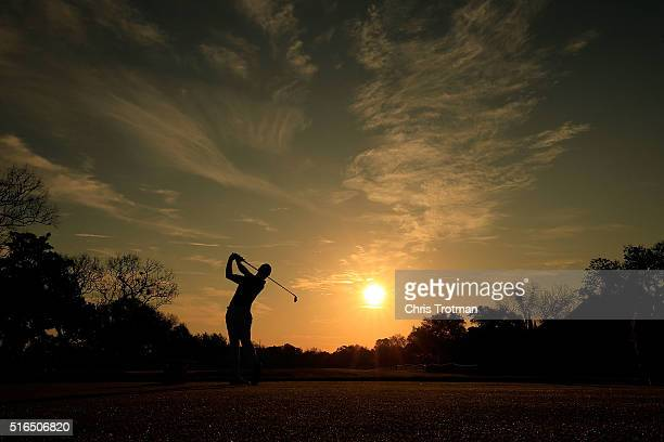 Rory McIlroy of Northern Ireland hits his tee shot on the 11th hole during the third round of the Arnold Palmer Invitational Presented by MasterCard...