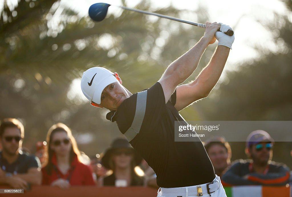 Abu Dhabi HSBC Golf Championship - Day Two : News Photo