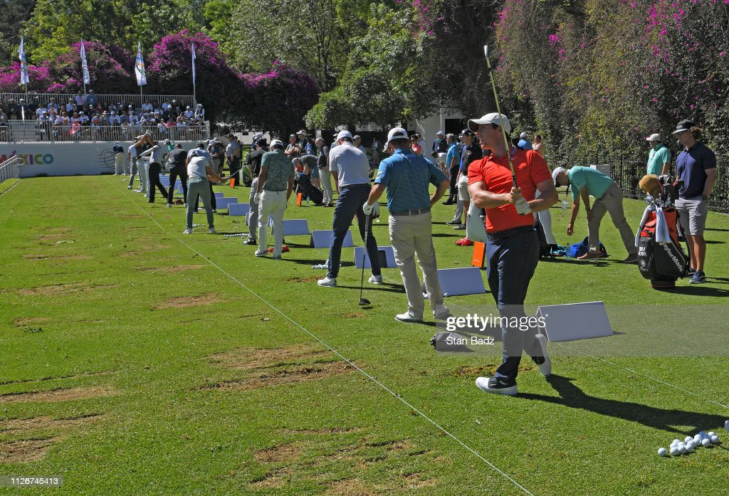 World Golf Championships-Mexico Championship - Round One : ニュース写真