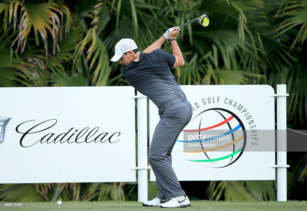 World Golf Championships-Cadillac Championship - Preview Day 3 : News Photo