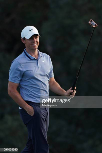 Rory McIlroy of Northern Ireland is seen after the final round of the Sentry Tournament of Champions at the Plantation Course at Kapalua Golf Club on...