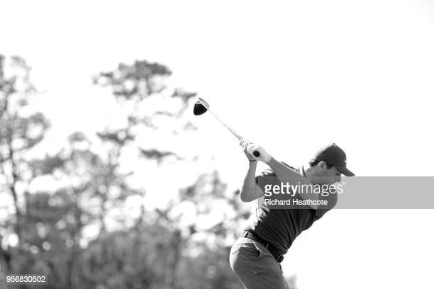 Rory McIlroy of Northern Ireland plays a shot during practice round prior to THE PLAYERS Championship on the Stadium Course at TPC Sawgrass on May 8...
