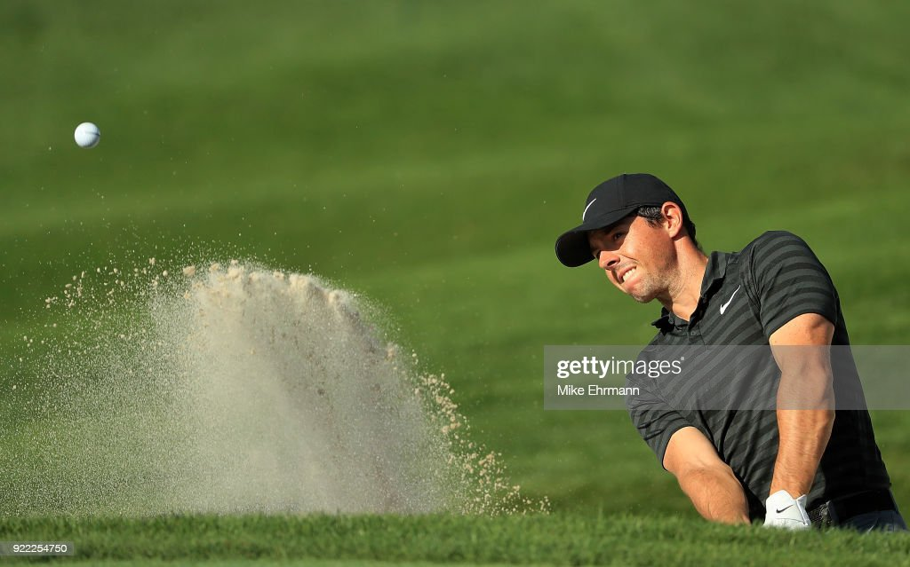 Rory McIlroy of Northern Ireland plays during a pro-am for the Honda Classic on February 21, 2018 in Palm Beach Gardens, Florida.