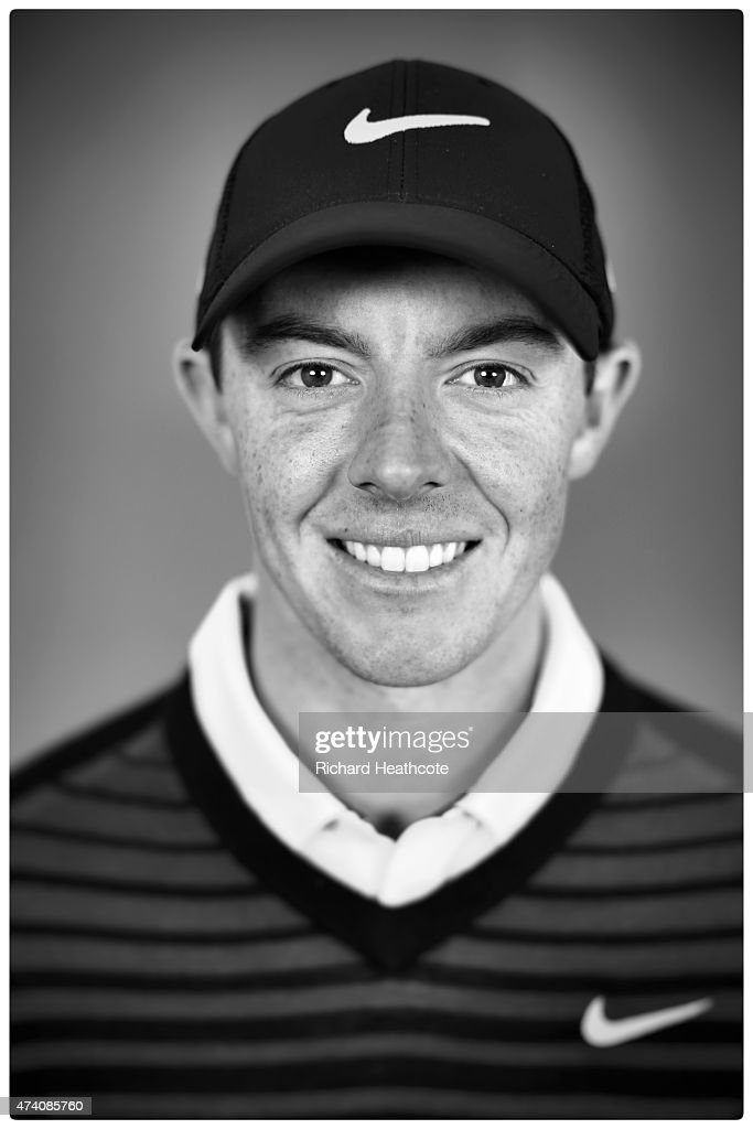 Rory McIlroy of Northern Ireland poses for a portrait during a practice day for the BMW PGA Championships at Wentworth on May 20, 2015 in Virginia Water, England.