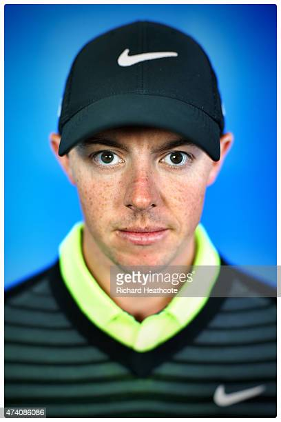 Rory McIlroy of Northern Ireland poses for a portrait during a practice day for the BMW PGA Championships at Wentworth on May 20 2015 in Virginia...