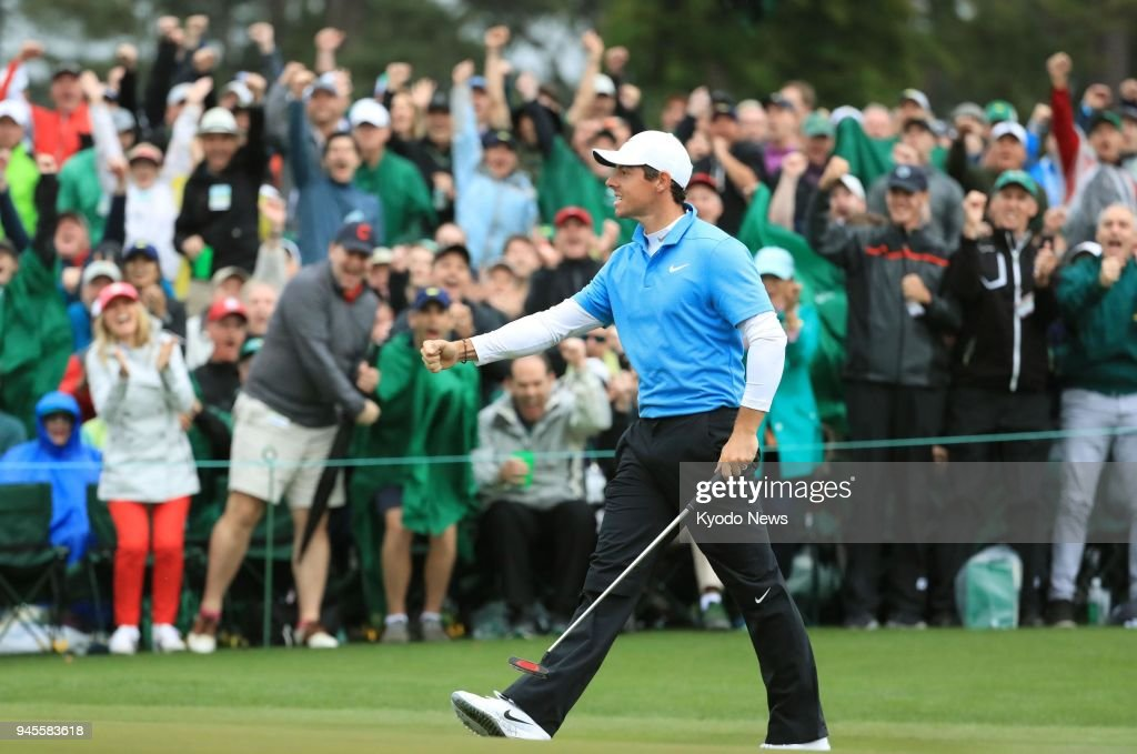 Golf: McIlroy at Masters : News Photo