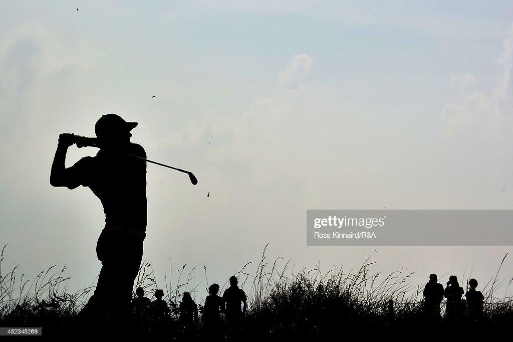 143rd Open Championship - Round Two : Fotografía de noticias