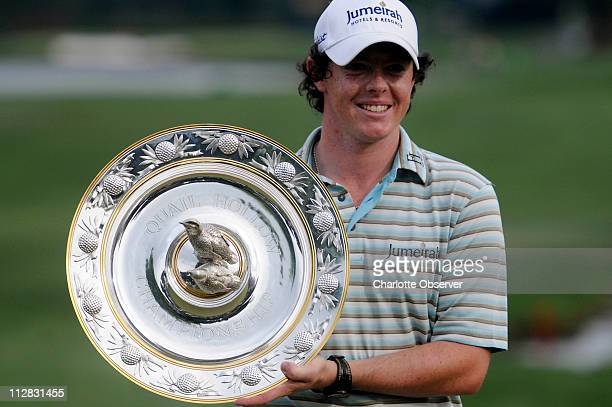 Rory McIlroy wins the 2010 Quail Hollow Championship at Quail Hollow Club in Charlotte, North Carolina, Sunday, May 2, 2010.