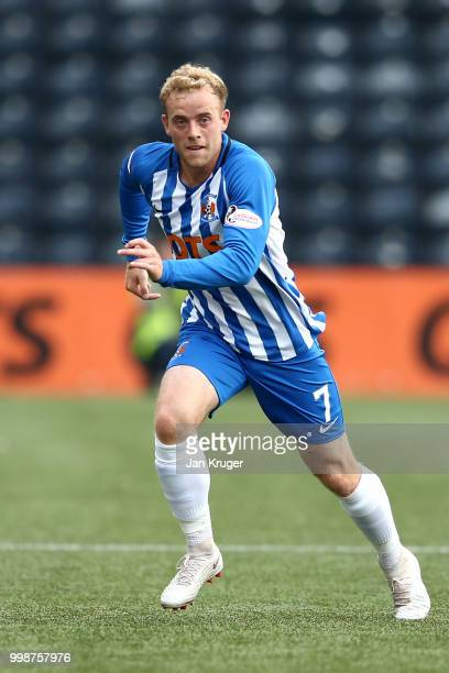 Rory McKenzie of Kilmarnock FC during the Betfred Scottish League Cup match between Kilmarnock and St Mirren at Rugby Park on July 13 2018 in...