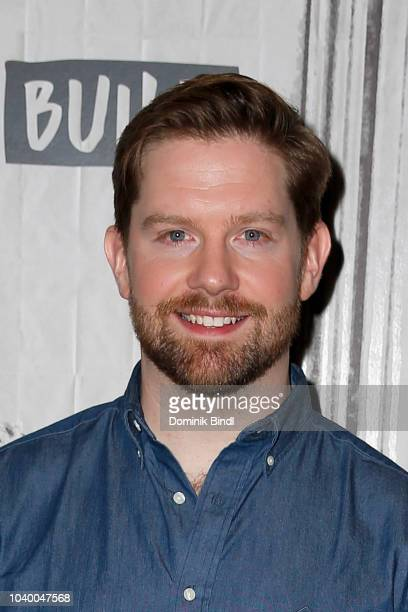 Rory O'Malley attends the Build Brunch at Build Studio on September 25 2018 in New York City