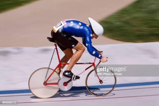Rory O'Reilly Men's Track cycling 1 km time trial competition Olympic Velodrome at the 1984 Summer Olympics July 30 1984