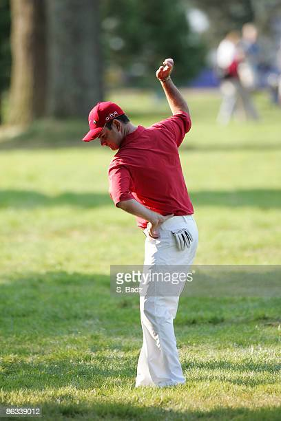 Rory Sabbatini in action during final round of the 2005 Bell Canadian Open September 11 held at Shaughnessy Golf Country Club Vancouver BC Mark...