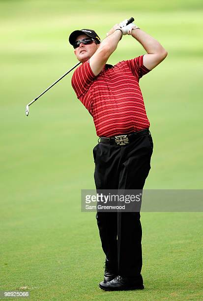 Rory Sabbatini of South Africa plays a shot from the first fairway during the third round of THE PLAYERS Championship held at THE PLAYERS Stadium...