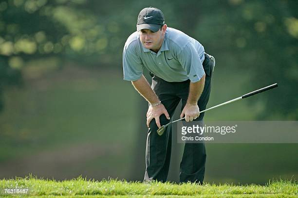 Rory Sabbatini on during the second round of The Barclays held at Westchester Country Club in Harrison NY on August 24 2007
