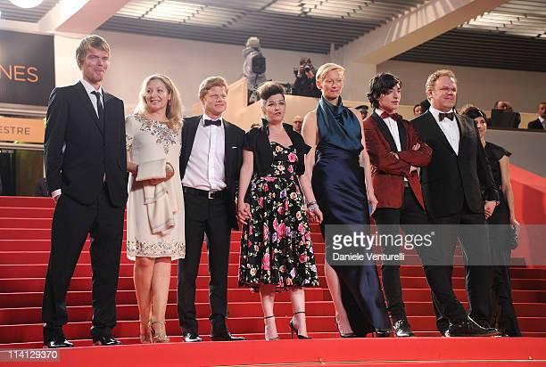 Rory Stewart Kinnear guest producer Luc Roeg director/writer Lynne Ramsay Tilda Swinton Ezra Miller John C Reilly and his wife Alison Dickey attend...