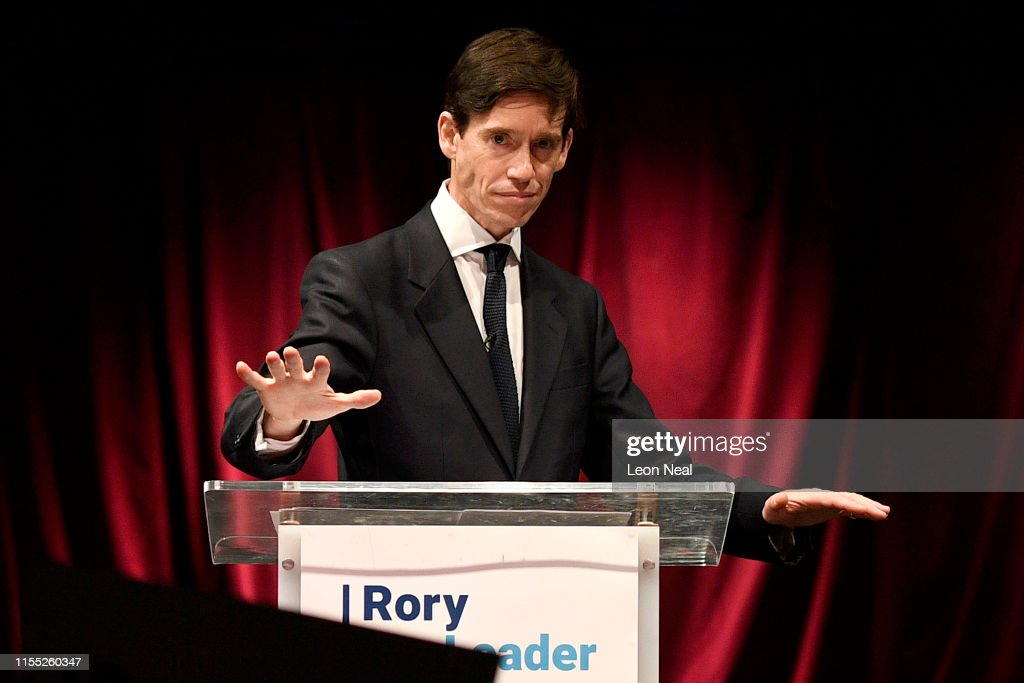 Conservative MP Rory Stewart Launches His Leadership Bid : News Photo