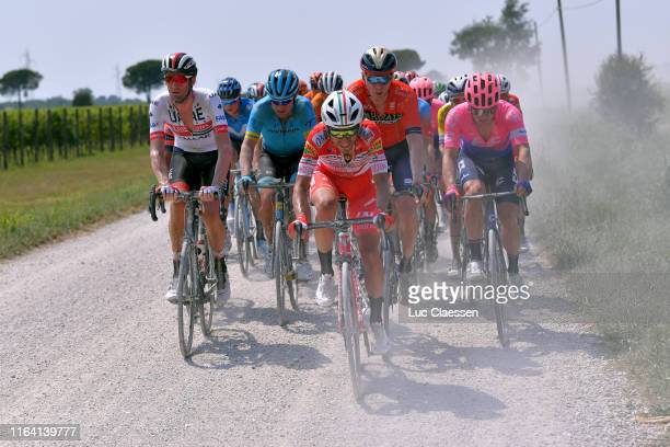 Rory Sutherland of Australia and UAE Team Emirates / Dmitriy Gruzdev of Kazakhstan and Astana Pro Team / Phil Bauhaus of Germany and Team...