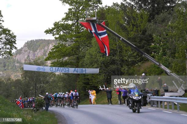 Rory Sutherland of Australia and UAE Team Emirates / Peloton / Fans / Public / during the 9th Tour of Norway 2019 Stage 1 a 1682km stage from...