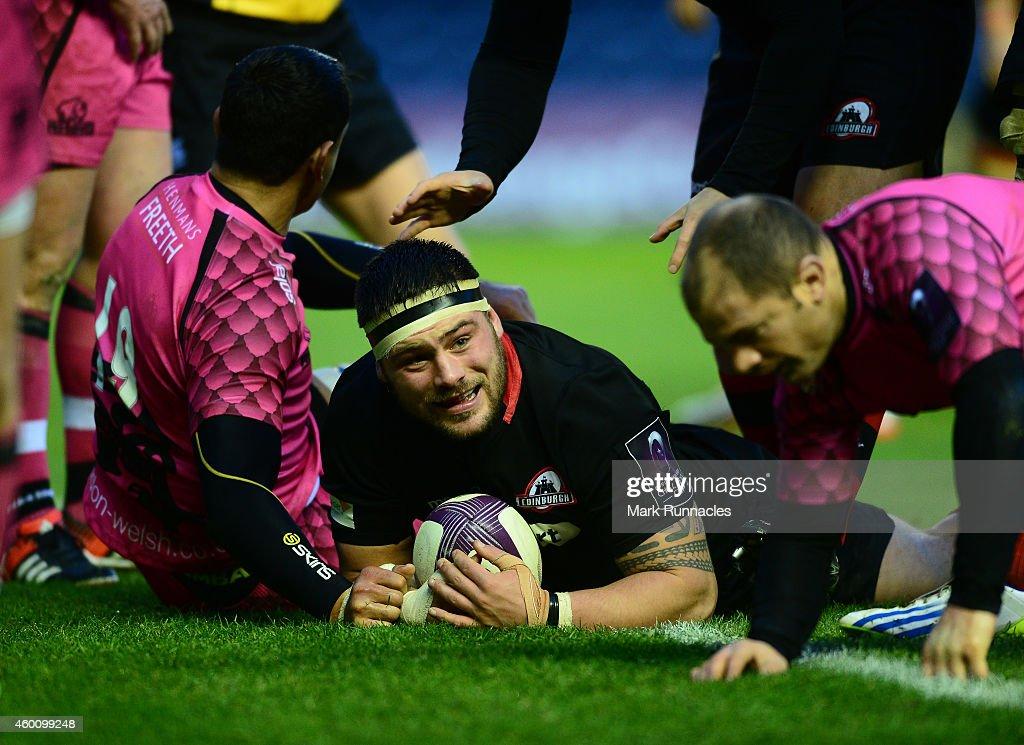 Edinburgh Rugby  v  London Welsh - European Rugby Challenge Cup : News Photo