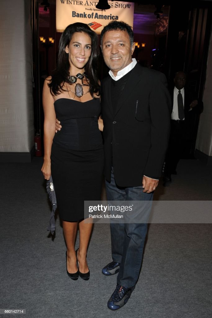 394b9a8b120 Rory Tahari and Elie Tahari attend 55th Annual WINTER ANTIQUES SHOW ...