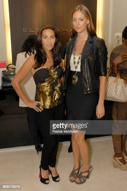 Rory Tahari and Erin Gray attend FASHION'S NIGHT OUT at ELIE TAHARI SOHO with Performance by ALEXA RAY JOEL at Elie Tahari Soho on September 10 2009...