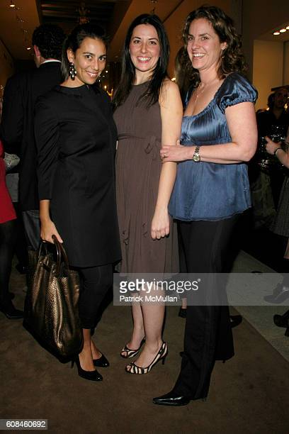 Rory Tahari Jessica Baltera and Emily Bear attend ELIE TAHARI Hosts the After Party for a Screening of THE LOOKOUT at Elie Tahari SoHo on March 26...