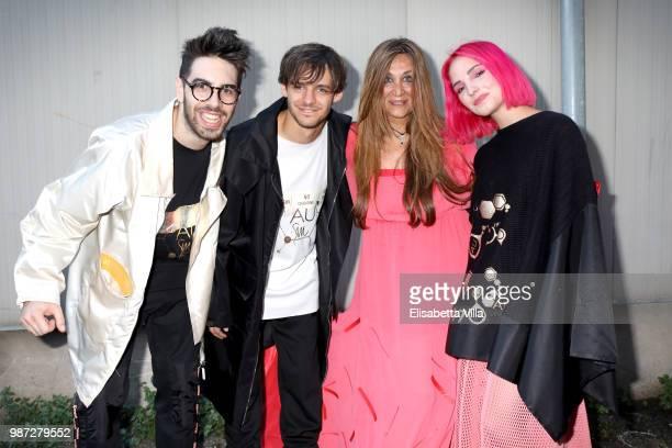 Ros and Paola Emilia Monachesi attend Sfilata AU197SM AltaRoma on June 29 2018 in Rome Italy