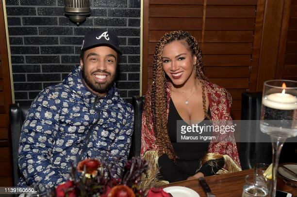 Ros GoldOnwude and guest attend 'Rémy Martin's and AwardWinning Producer Jermaine Dupri Intimate Dinner To Celebrate The Upcoming Sixth Season of...