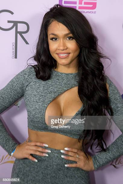 Rosa Acosta arrives at the Blac Chyna Birthday Celebration And Unveiling Of Her 'Chymoji' Emoji Collection at the Hard Rock Cafe on May 10 2016 in...