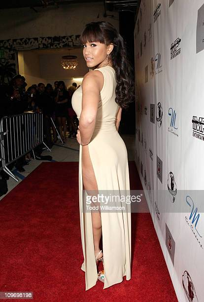 Rosa Acosta attends the IMP Entertainment And Steve Marlton Worldwide Allstar Event Day 2 at Siren Studios on February 20 2011 in Hollywood California