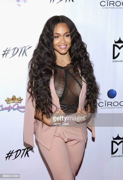 Rosa Acosta attends the Single Release Party For Dom Marcell's single #DTK at Penthouse Nightclub Dayclub on March 21 2017 in West Hollywood...