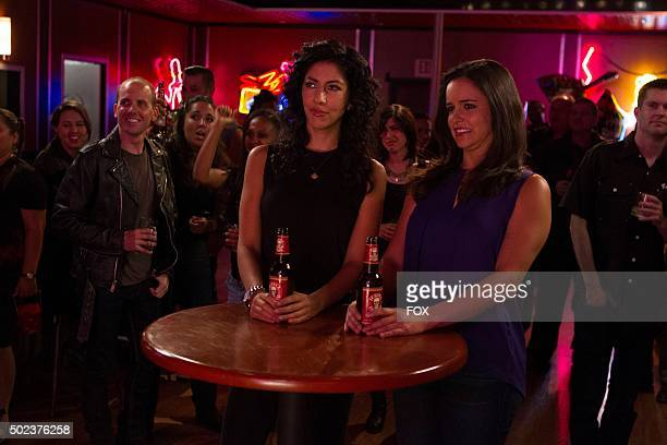 Rosa and Amy in the The Oolong Slayer episode of BROOKLYN NINENINE airing Sunday Oct 18 on FOX