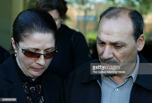 Rosa and Tony Lombardo leave an inquest at Glebe Coroner's Court on Monday into the death of their son Lorenzo on the cruise ship Pacific Sky in 2002...