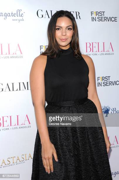 Rosa Barney attends BELLA New York Spring Issue cover party hosted by Kelly Osbourne at Bagatelle on April 24 2017 in New York City