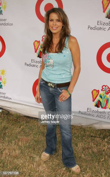 Rosa Blasi during Elizabeth Glaser Pediatric AIDS Foundation 2005 A Time For Heroes Celebrity Carnival Arrivals in Los Angeles California United...
