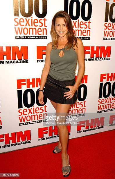 Rosa Blasi during FHM Magazine Hosts The 100 Sexiest Women in the World Party at Raleigh Studios in Hollywood California United States
