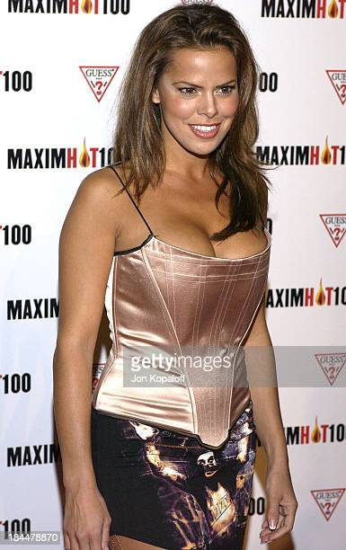 Rosa Blasi during Maxim Hot 100 Party Arrivals at Yamashiro in Hollywood California United States
