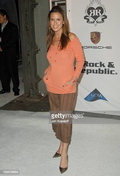 Rosa Blasi during Rock Republic Love Rocks Fashion Show Spring 2006 at Sony Studios in Culver City California United States
