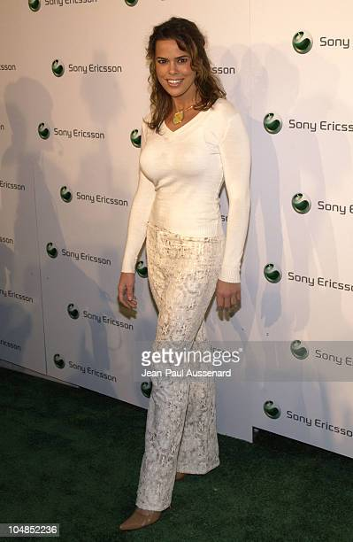 Rosa Blasi during Sony Ericsson's Hollywood Premiere Party 2003 at The Palace in Hollywood California United States