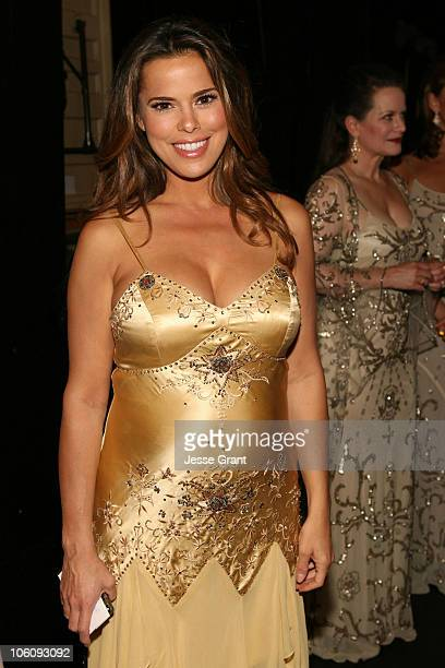 Rosa Blasi during What a Pair 4 After Party at Western/LG Theatre in Los Angeles CA United States