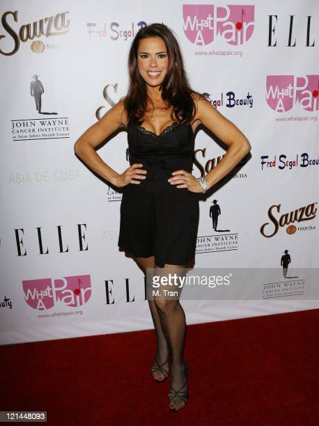 Rosa Blasi during What A Pair 5 at The Orpheum in Los Angeles California United States
