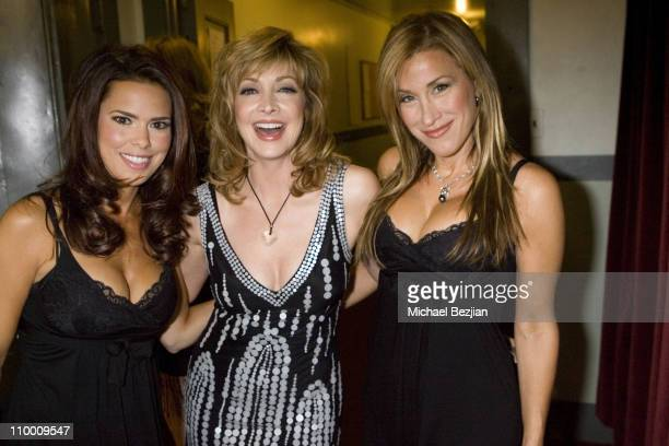 Rosa Blasi Sharon Lawrence and Amy Peitz during 2007 What a Pair Benefiting the John Wayne Cancer Institute Arrivals and Backstage at The Orpheum...